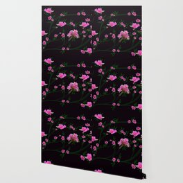 Pink flower clipping Wallpaper