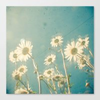 forever young Canvas Prints featuring Forever Young by Cassia Beck