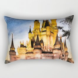 Castle Reflection Rectangular Pillow