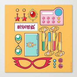 Inner Senshi Starter Kit  Canvas Print