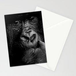 Silver Back Stationery Cards