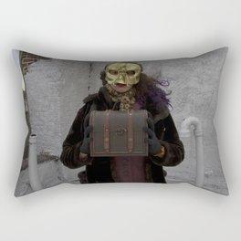 Wearing My Skeleton on My Face, No. 1 Rectangular Pillow
