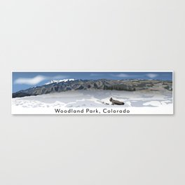 Woodland Park, Colorado Canvas Print