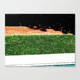 Fountain Drops at the Vanderbilt Canvas Print