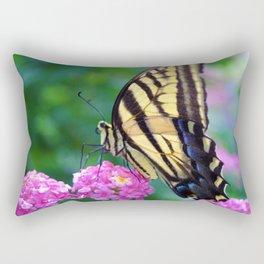 The Butterflies Garden Rectangular Pillow