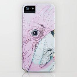 Face of Pipoïsm iPhone Case