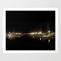 The Calm After Hours Art Print
