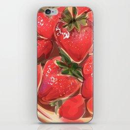 fraises. iPhone Skin