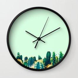 Cactiolicious Wall Clock
