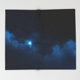 Night Sky Throw Blanket