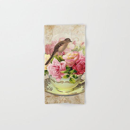 Tea flowers #3 Hand & Bath Towel