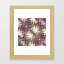 Fish Scale - Mandala Premium Series 004 Framed Art Print