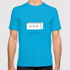 The Little Prince, box Mens Fitted Tee SMALL Teal
