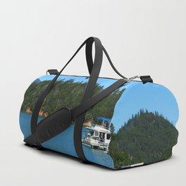 Houseboats On Lake Shasta Duffle Bag