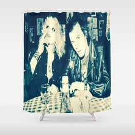 Drinking LOVE Shower Curtain