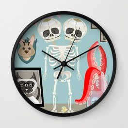 Curiousity Cabinet #1 Wall Clock