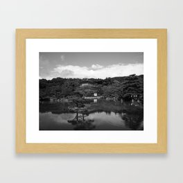 Temple Mono Framed Art Print