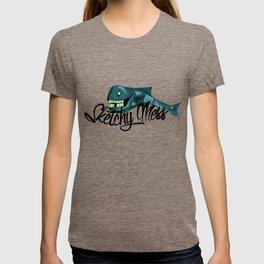 Sketchy Fish T-shirt