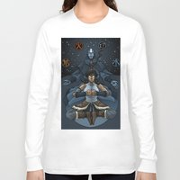 korra Long Sleeve T-shirts featuring Korra by Alex Rodway Illustration