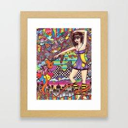Surpass & Overcome Framed Art Print