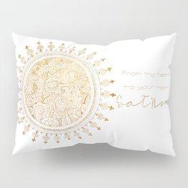 Justyoga Mandala SatNam Pillow Sham