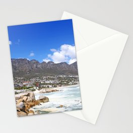 Lovely Cape Town, South Africa Stationery Cards