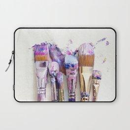 Six Dirty Paintbrushes (Photo) Laptop Sleeve