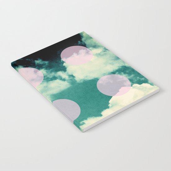 Clouds + Dots Notebook