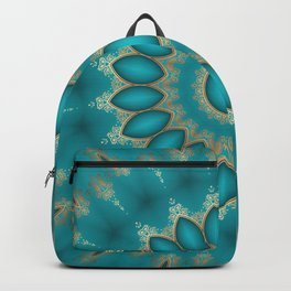 Turquoise Jewels Backpack