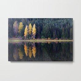 Trillium Lake. Metal Print