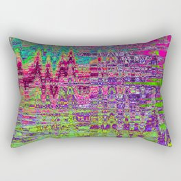 TWENTY SECONDS AFTER UNIVERSE SEVEN FORMED FROM THE VOID Rectangular Pillow