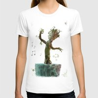groot T-shirts featuring Baby Groot by Scofield Designs