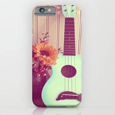 Blue Ukulele Slim Case iPhone 6s