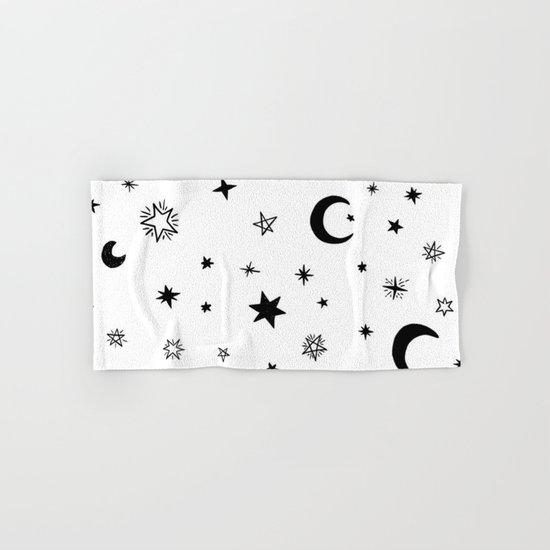 Moons & stars Hand & Bath Towel