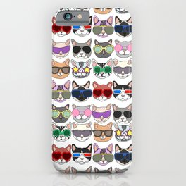 Hollywood Cats iPhone Case