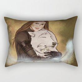abby griffin // auror, healer Rectangular Pillow