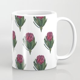 Watercolor Pattern - The Protea Flower Coffee Mug