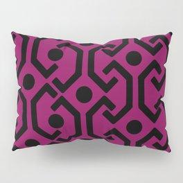 Ethnic Pattern (Purple) Pillow Sham