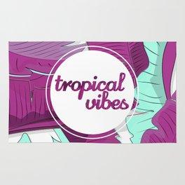 Tropical vibes Rug