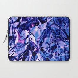 Fluid Painting 3 (Blue Version) Laptop Sleeve