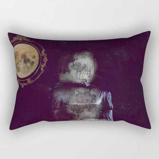 The ghost of miss Parker Rectangular Pillow