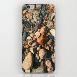 Ocean Pebbles iPhone Skin