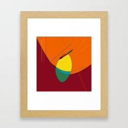 Birth & Beauty #Abstract Framed Art Print
