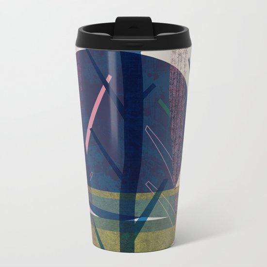 Blue moon Metal Travel Mug
