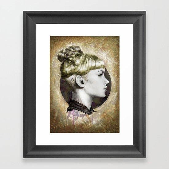GrimesI Framed Art Print