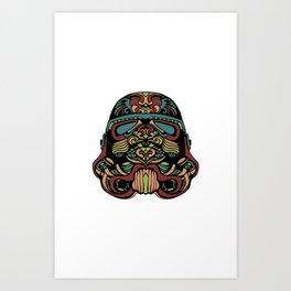 Secret Shopper Art Print