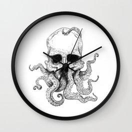 Skulltopus Wall Clock