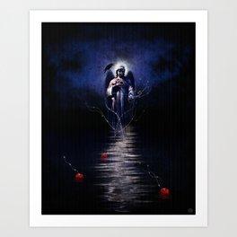 Sea of Remorse Art Print