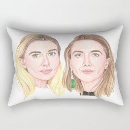 Olsen Twins Rectangular Pillow