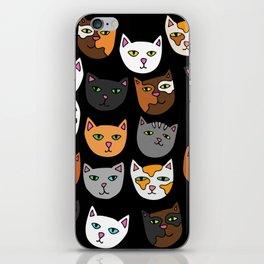Kitty Cats Everywhere iPhone Skin